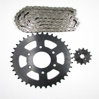 428 520 428-17t Motorcycle spare parts roller chain and sprocket kits roller chain