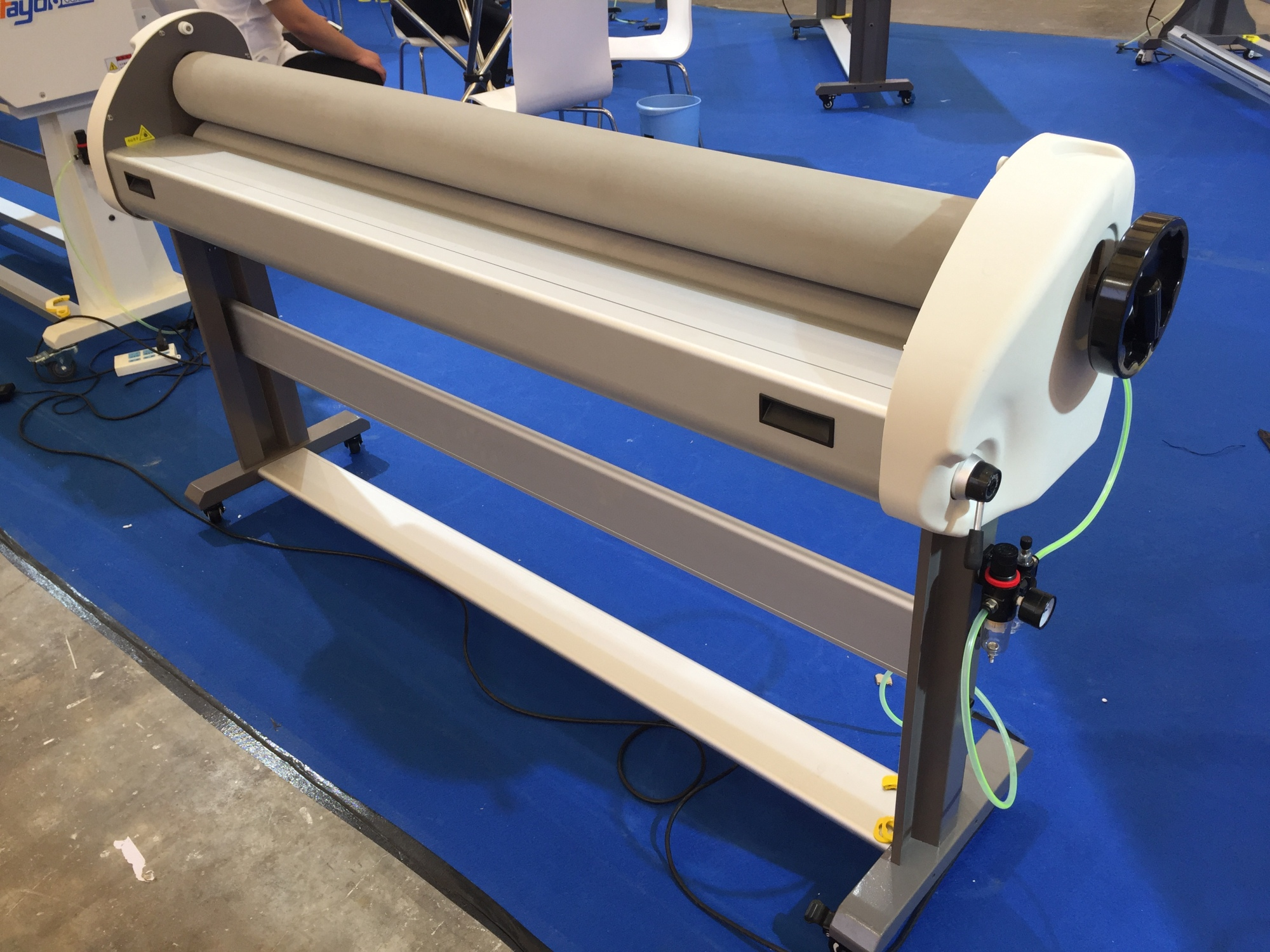 FAYON foam board laminator stretch film lamineermachine koud roll laminadora