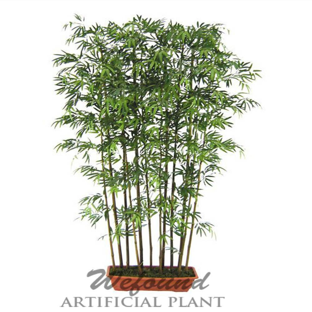 wf07302 japonais bambou avec tige noire artificielle plante en pot mini palm trees fleurs. Black Bedroom Furniture Sets. Home Design Ideas