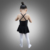 C2123 camisole ballet skirted leotard wholesale skirt kids ballet leotard with removable skirt