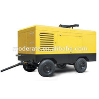 Portale17bar diesel engine driven air screw compressor for mining
