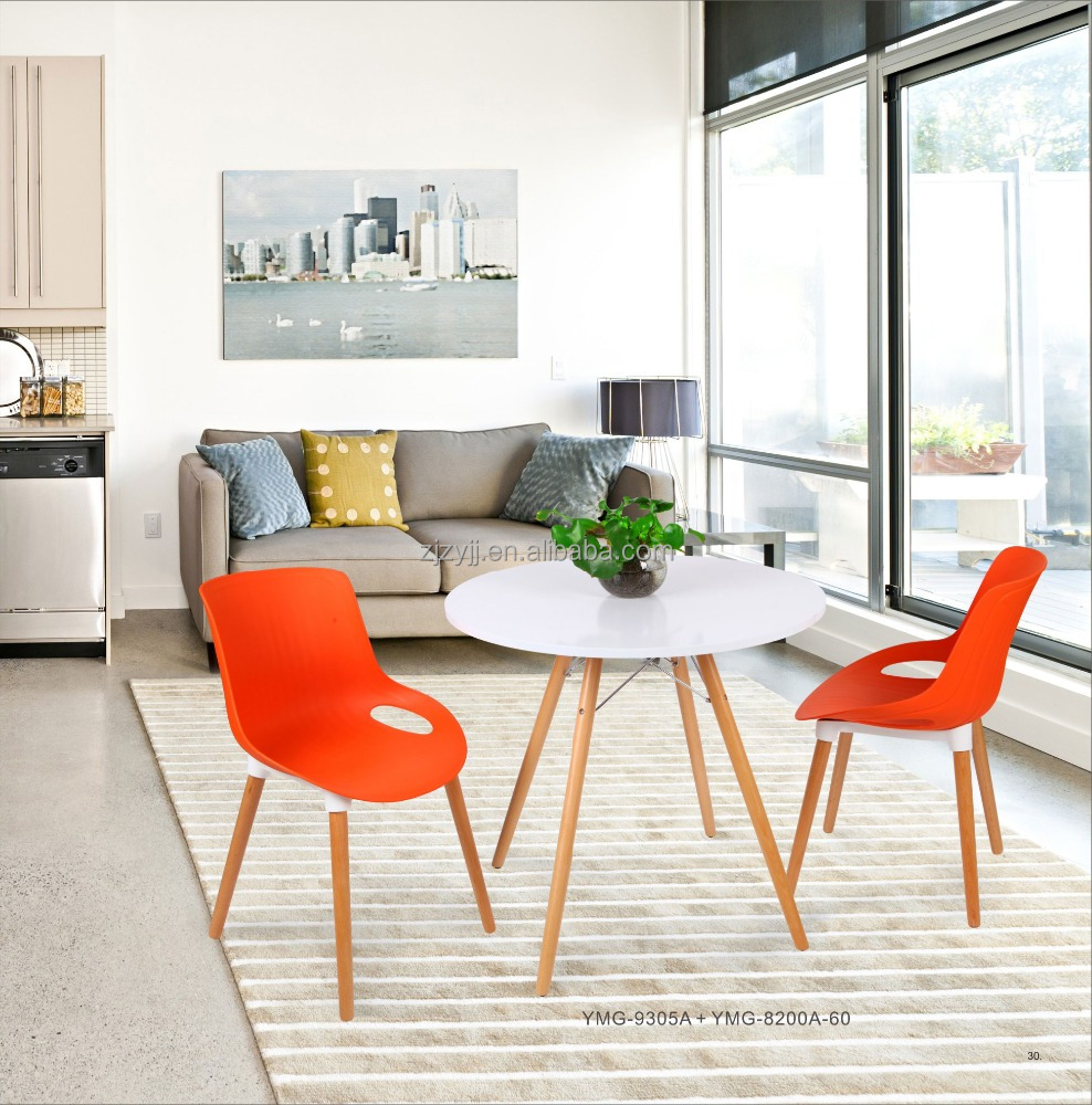 Alta qualidade mesa de jantar moderna e cadeira conjuntos for Modern high dining table