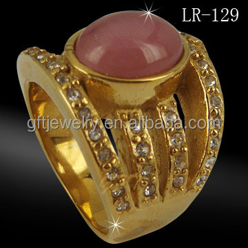 China Factory Direct Wholesale Dubai Gold Rings Mens Jewelry Buy