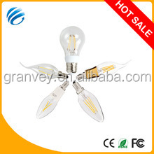 hot new products for 2014 alibaba express led light,led,energy saving CEROHS led filament lamp e14 e27 b22 2w/3w/4w/6w/8w