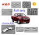 High quality chrome auto accessories full set for d max 2015