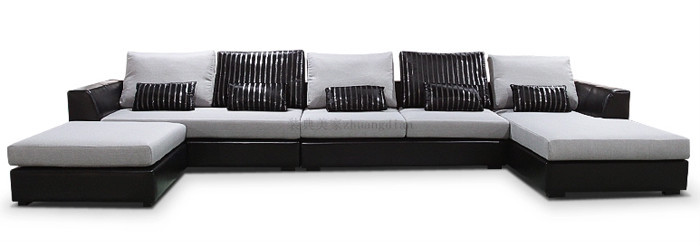 Cheap Sofa Set Factory New Design, U Shaped Sectional Sofa For Sale, U  Shaped