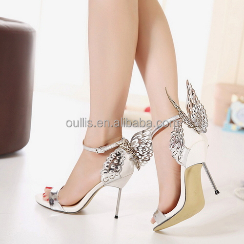 4901bd8bc62cae 2015 Stylisih new design pointed toe high heel pumps low price sexy ankle  strap hing heel