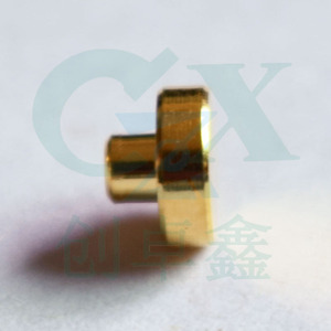 female water proof brass pogo pin for PCB