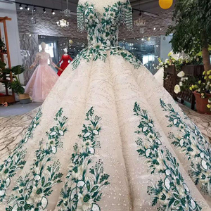LSS166 floor length evening dress long o neck tassel short sleeve prom dresses green lace open back ball party dresses pleat