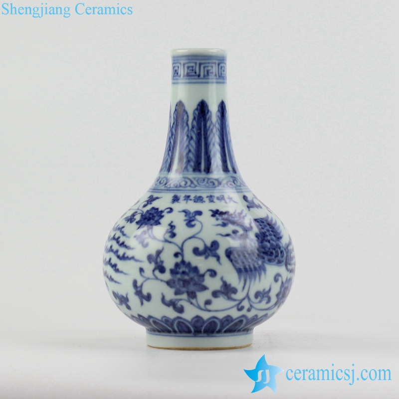 Rzhl17 Ming Dynasty Reproduction Blue And White Hand Paint