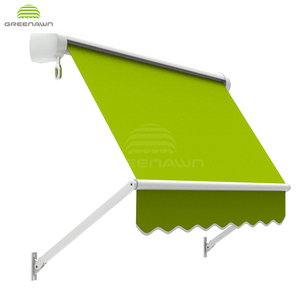 Greenawn GR350 French style folding arm window awnings