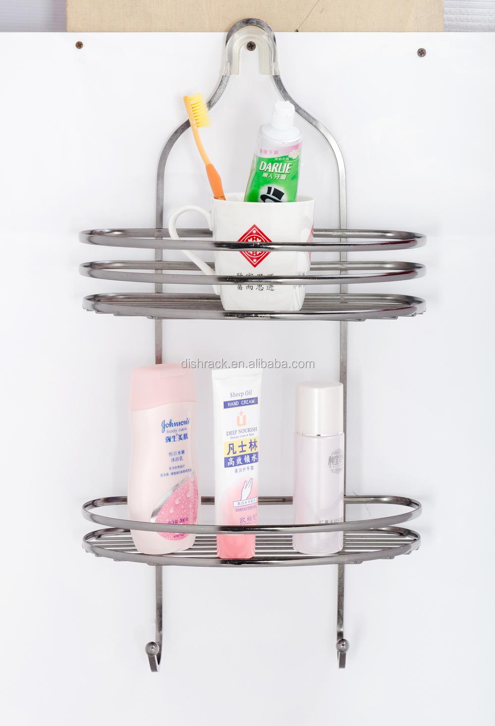 3 tier metalen badkamer rek opknoping badkamer douche for Organizador para ducha