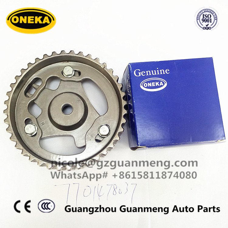 [ONEKA] AUTO PARTS HOT USED IN TURKEY 7701476570 7701473179 CAMSHAFT PULLEY FOR RENAULT CLIO 1.5 dCi ENGINE K9K 770