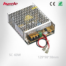 60W 12V/24V UPS /Charge function monitor switching power supply