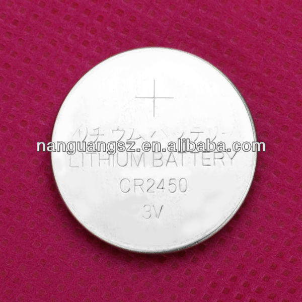 3V lithium battery CR2450