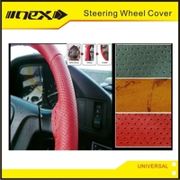 Sewing Interior Car Accessary Anti Slip Steering Wheel Cover