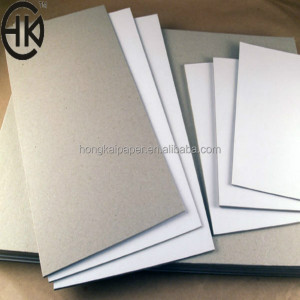 350gsm C1S coated duplex board grey back/ white back