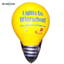 Led licht opblaasbare giant helium <span class=keywords><strong>lamp</strong></span> ballon voor reclame H4049