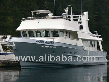 24meter ocean trawler yacht   buy steel trawler yachts