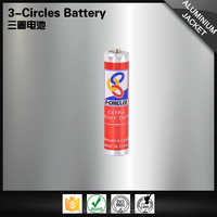 Non-alkaline wholesale eco-friendly um4 dry 1.5v aaa R03 battery
