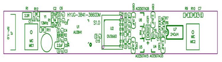 3MP Camera Module Free Driver USB2.0 OV3660 Wide Angle