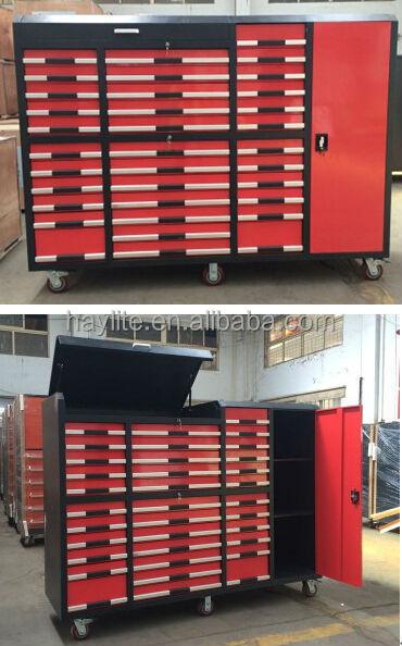 Turbo Bois Personnalisé Top Atelier Garage Acier Rouleau Métallique  UA91