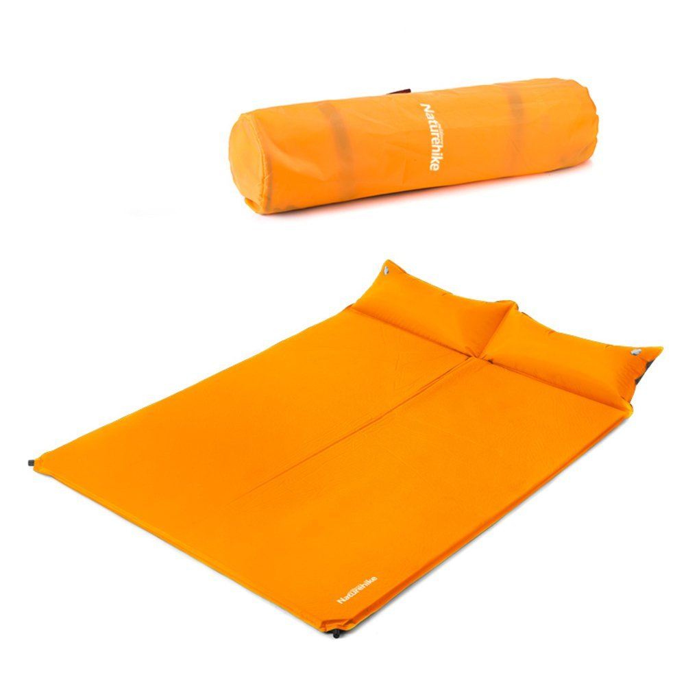 Outdoor double automatic inflatable cushions/ mat/ padded tents sleeping pad/ camping mat the grass/ meal/ inflatable cushions