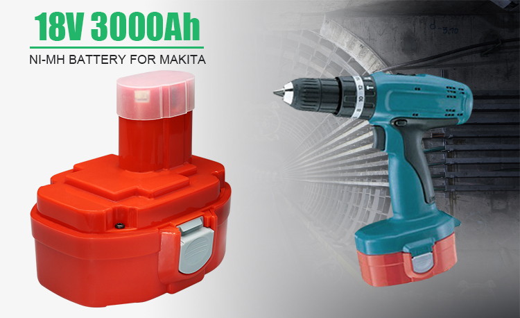 Factory Custom 18V 3000mah Ni-MH Power Tool Battery with Cheap Price