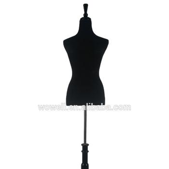 Black Female Dress Form Size 6 8 Medium 34 26 35 Buy Dress Form