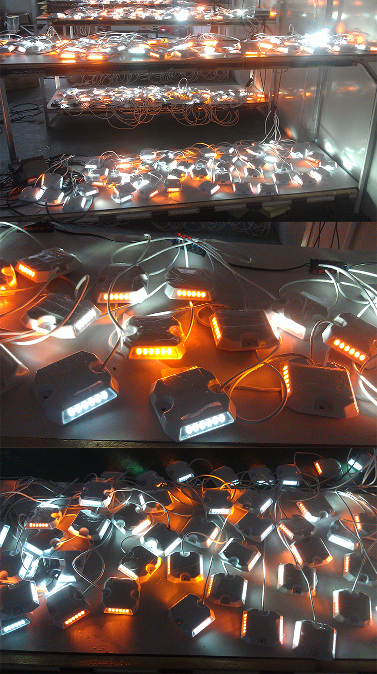 (High) 저 (quality 플라스틱 유선 cable led road stud