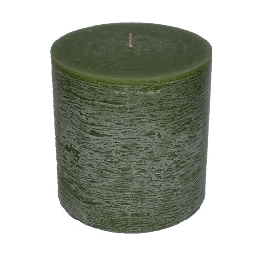 Rustic Surface Long Time Burning Scented Pure Colored Pillar Candles