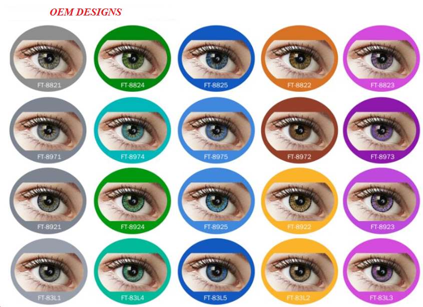 OEM color contact lenses competitive price - made in south korea