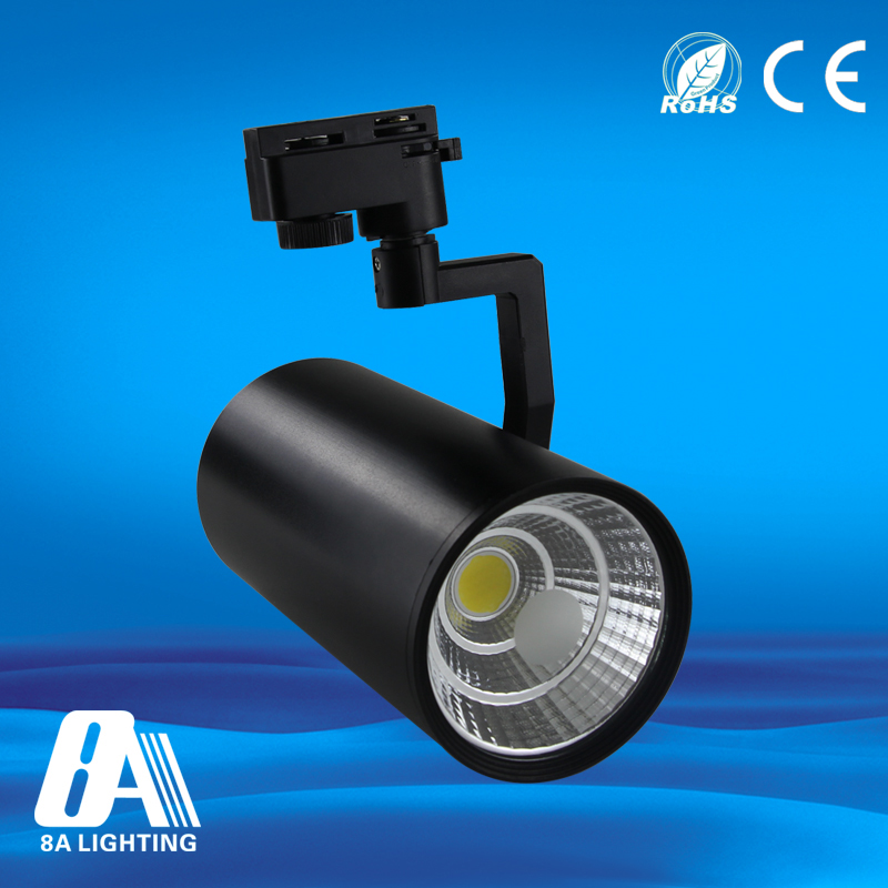 High ceiling track lighting system 10w commercial led track light
