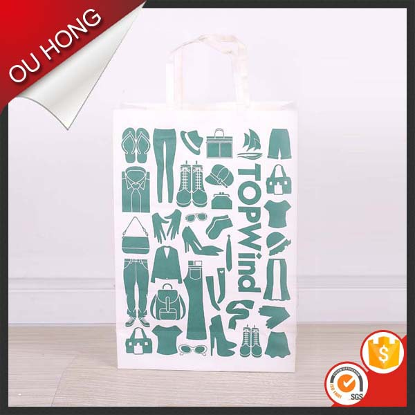 Printed Logo Custom Shopping Gift Promotion Paper Bag