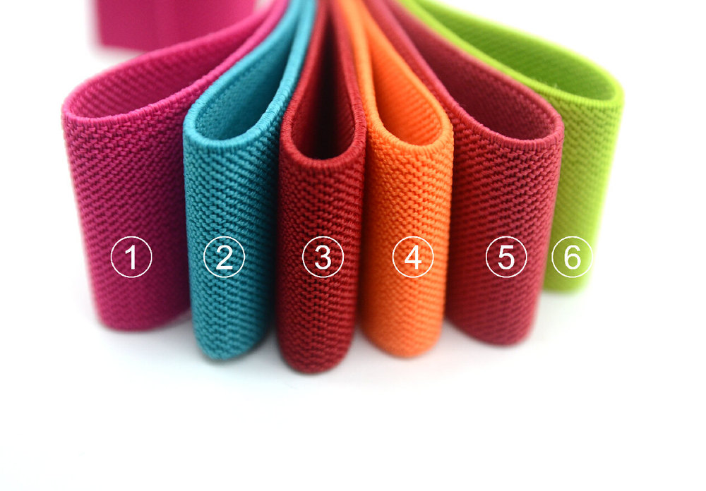 1.5 inch 38mm Colored Wide Elastic, Waistband Elastic,Sewing Elastic Rubber Elastic band rubber band