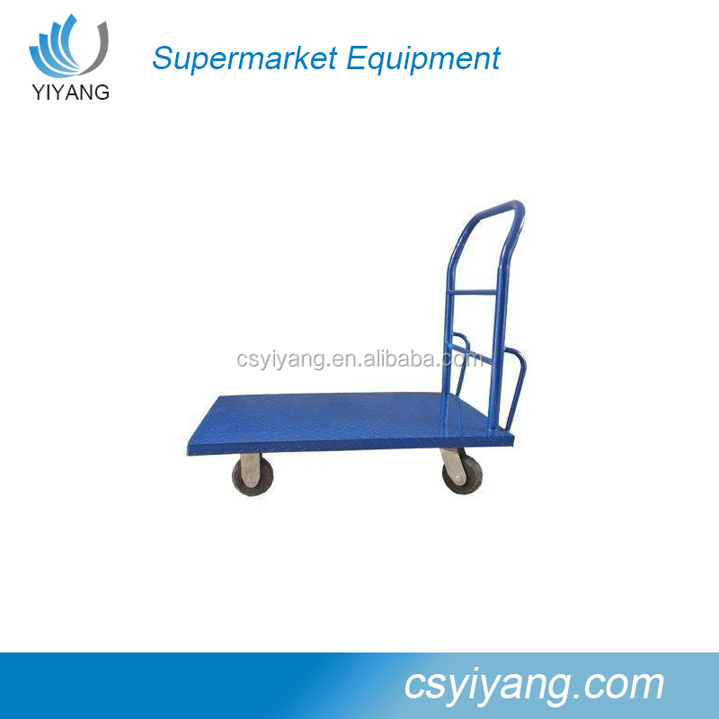 Folding Platform Hand Truck Trolley Foldable Warehouse Transport Flat Bed
