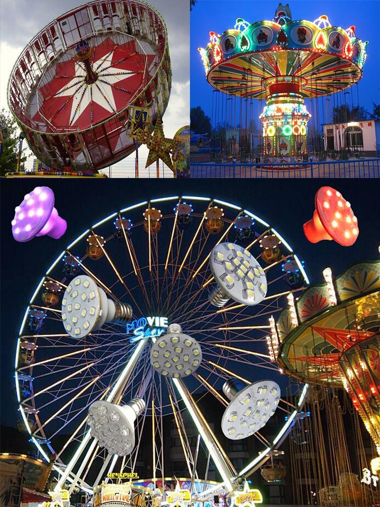 Dc12v 24v 60mm 12 Leds 9 Pcs Cabochon Funfair Fairground Rides ...