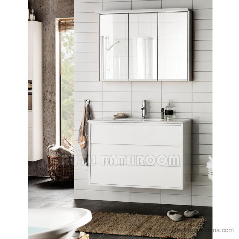 Commerci le badkamer vanity eenheden badkamer spiegelkast - Commercial bathroom vanity units suppliers ...