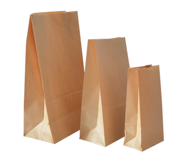Supplier For Custom Paper Resealable Brown Kraft Bread Paper Food Safe Bags