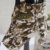 Camouflage Fake Double Set Dog Clothes with Four Foot