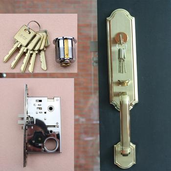 High Quality Aluminum Sliding Door Lock,Cylindrical Door Knob Lock ...