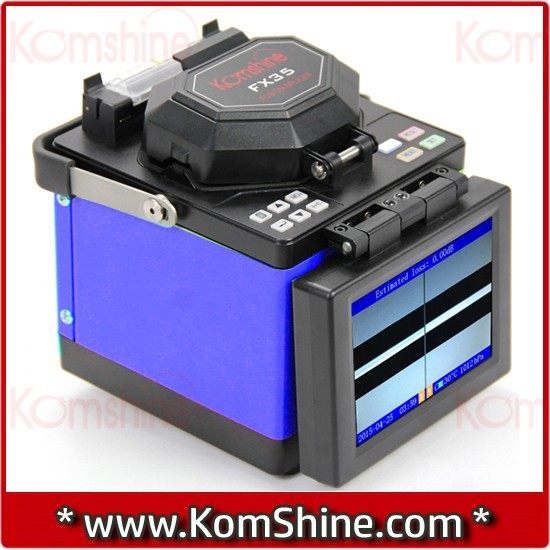 Arc Fusion Splicer Komshine Fx35 Optical Fiber Splicing Machine W ...