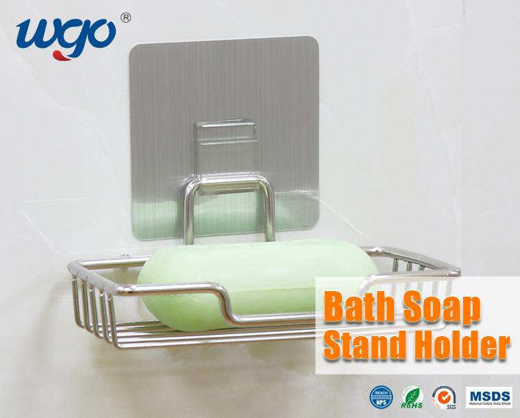 Paslanmaz Çelik Yapıştırıcı Sabunluk Sabunluk Banyo Aksesuarı