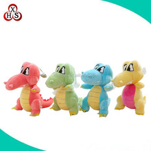 2016 hot sale christmas stuffed plush dinosaur toys for kids gifts