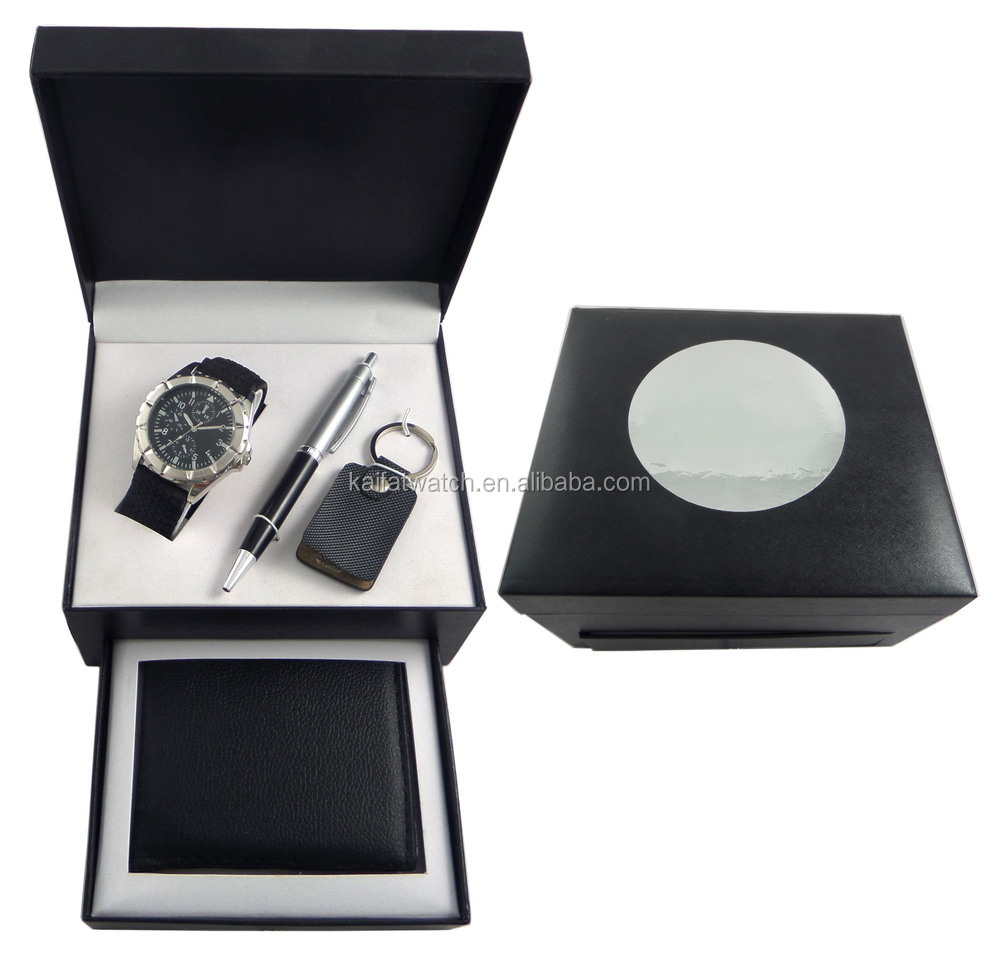 promotion luxury business gift set for men with gift box, View ...
