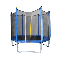 Big trampolines park with safety foam for sale