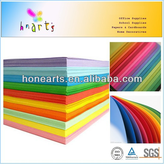 80gsm color paper sheet