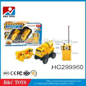 Removable construction car 1:32scale 4ch remote control rc toy car HC299960