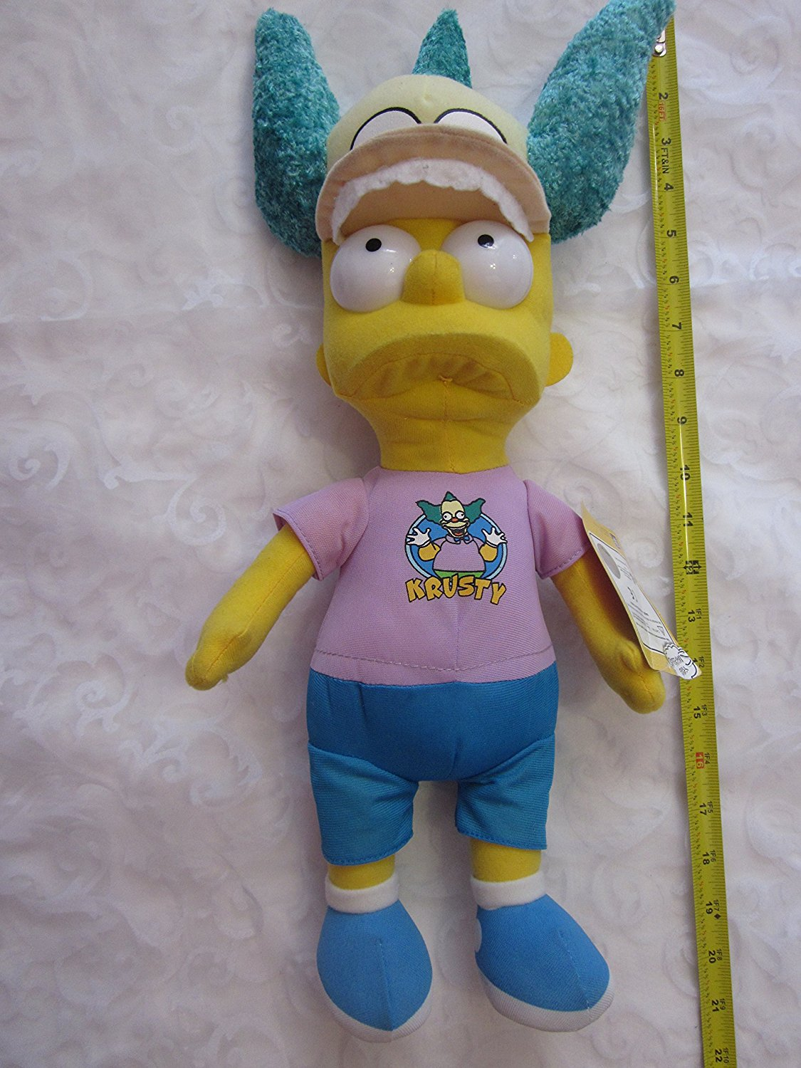 84fd90ef9f04a Get Quotations · Bart Simpson with Krusty Hat 17