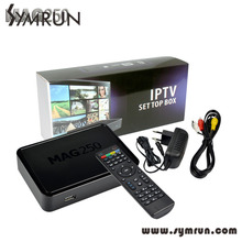 2016 New AVOV TVonline IPTV Box with Dream IPTV Arabic Europe IPTV Channels  Mag 250 Mini